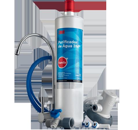 Purificador de agua 3M Family con filtro